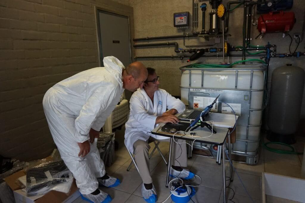 reducir contaminacion electromagnetica espectrometria VEEMA